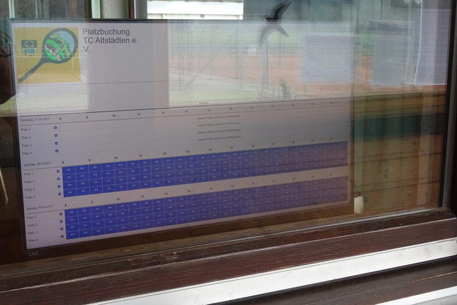 Bildschirm Fenster