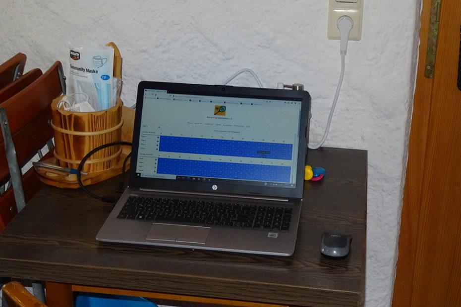 Laptop Vereinsheim